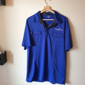 (3 FOR $20 SALE) Young Living Blue Collared Shirt